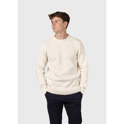 KLITMØLLER -   Søren knit - Cream
