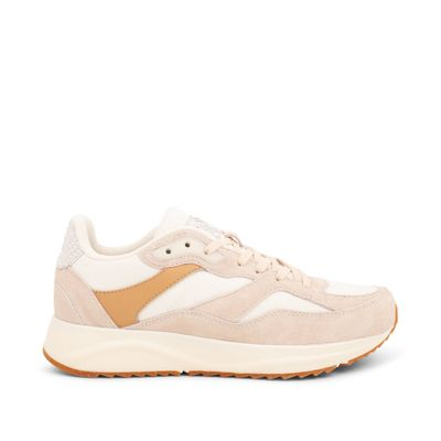 Woden Sophie Off White Leather Sneakers