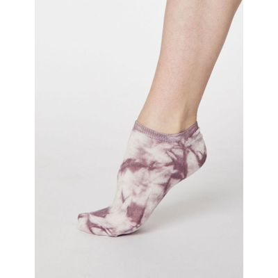 Thought Sokkar Tie Dye Trainer Tulip Purple