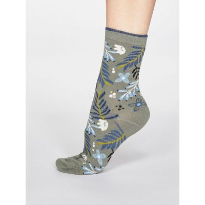 Thought Sokkar Nelly Floral Sage Green