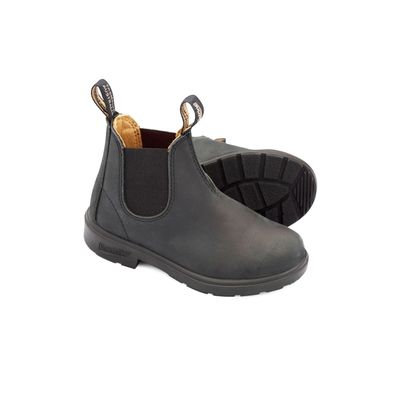 Blundstone Kids 1325 Rustic Black Leather