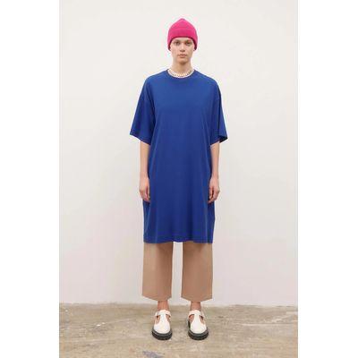 KOWTOW - T-SHIRT DRESS  - BRIGHT BLUE