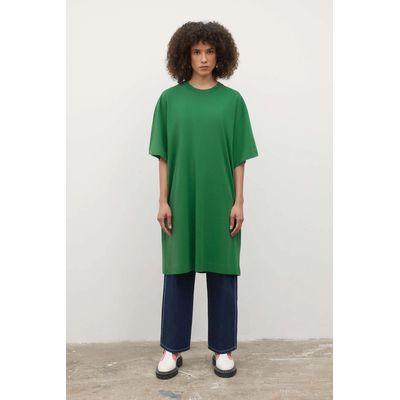 KOWTOW - T-SHIRT DRESS - EVERGREEN