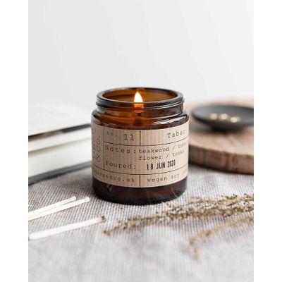 Tiger & co. Tabac Candle Jar
