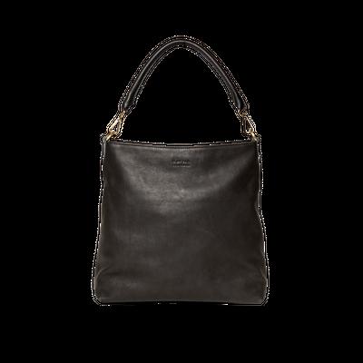 O MY BAG - Janet - Black Soft Grain Leather