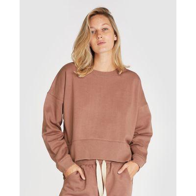CLOTH & CO - THE FLEECE SWEAT - MOCHA