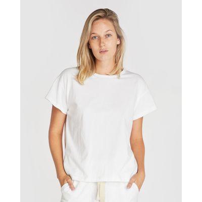 CLOTH & CO - THE VINTAGE TEE -  WHITE