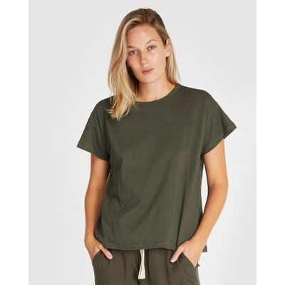 CLOTH & CO - THE VINTAGE TEE | DEEP FOREST