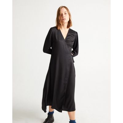 THINKING MU - BLACK CAMILLE DRESS
