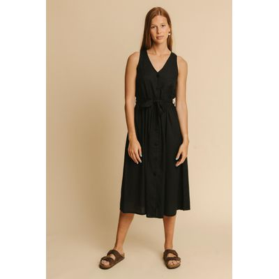 THINKING MU -  BLACK - JOLIE DRESS