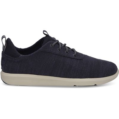 Toms Cabrillo men Navy Slubby Cotton
