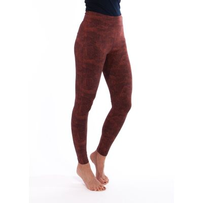 YOGAMII - Lilly Leggings - Coral Print