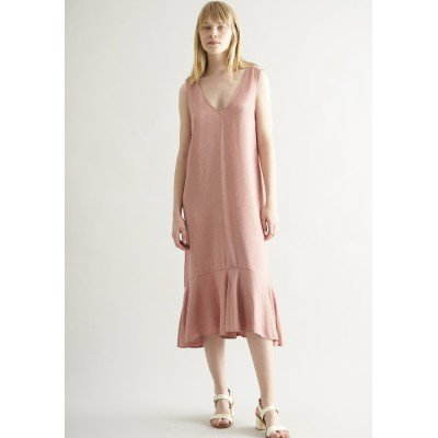 CUS - VITTORIA DRESS - MAROON