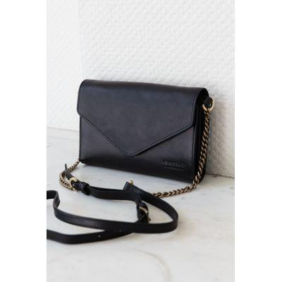O MY BAG - JOSEPHINE CHAIN - BLACK