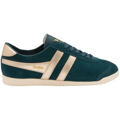 Gola Bullet Women Dark Teal/Gold Suede