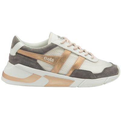 Gola Eclipse Women White/Ash/Rose Gold