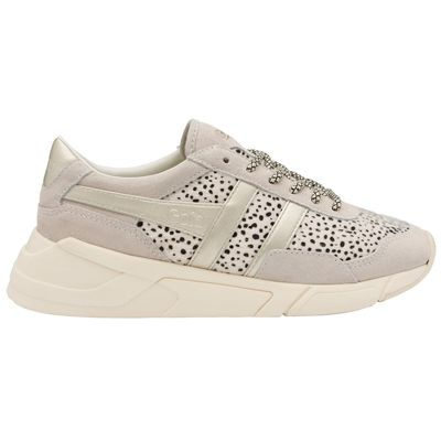 Gola Women Eclipse Savanna Off White/Cheetah/Gold