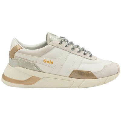 Gola Eclipse Women White/Gold/Silver