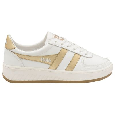 Gola Grandslam Women White/Gold Leather