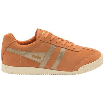 Gola Harrier Women Peach/Gold Suede