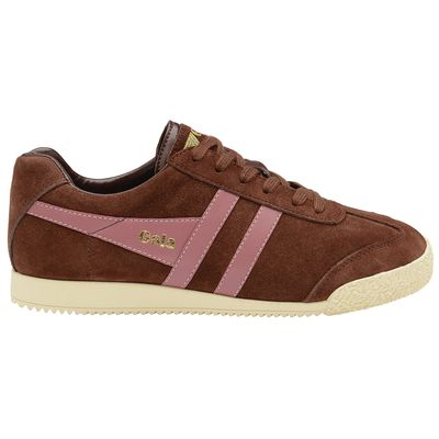 Gola Harrier Women Cognac/Dusty Rose Suede
