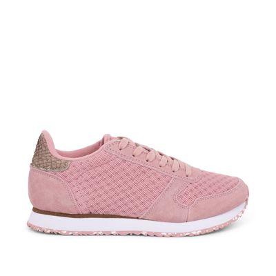 Woden Sneakers Ydun Suede Mesh II Soft pink