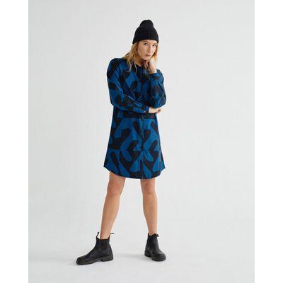THINKING MU - ZABAWA - BLACK - FRIGG DRESS