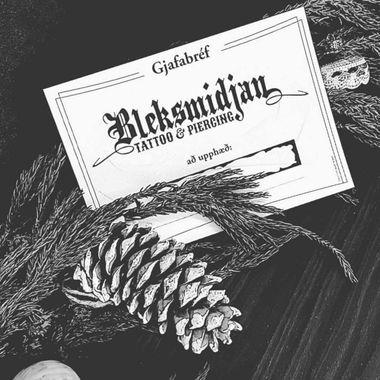 Húðflúr hjá Bleksmiðjunni