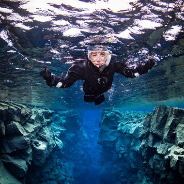 Snorkl í Silfru