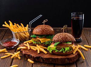 Burger fyrir tvo