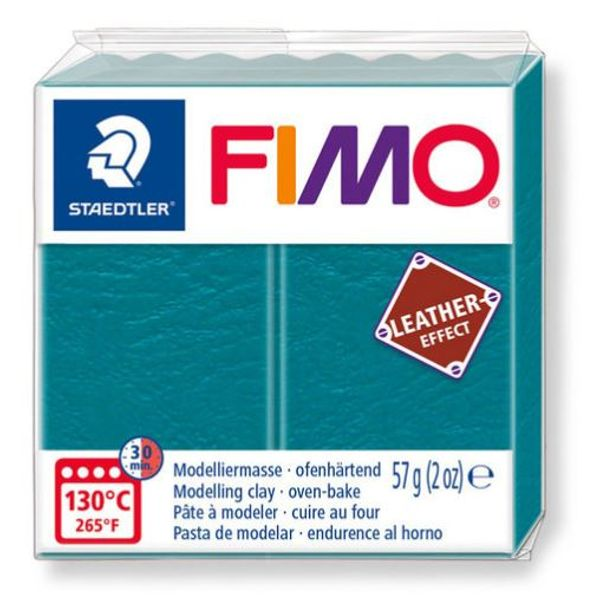 Fimo leather, Lagoon, 57 gr