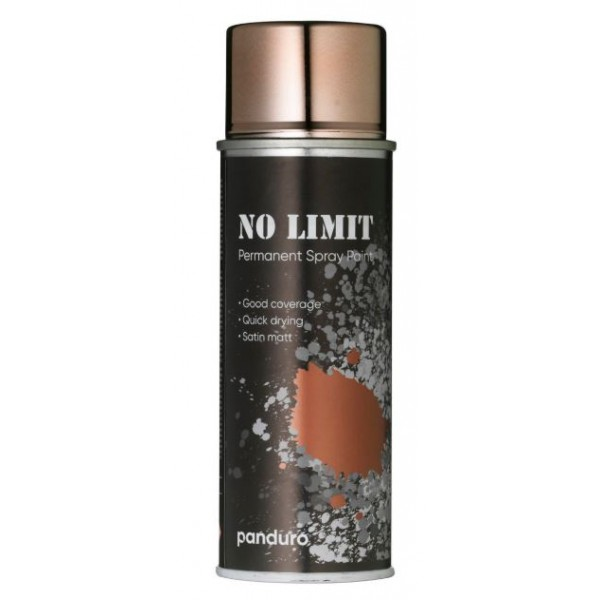 NO LIMIT málningarsprey, 200 ml., Copper metallic
