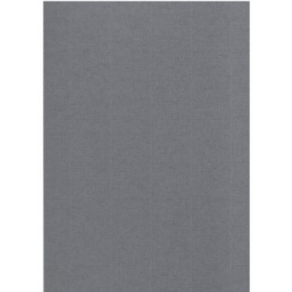 Tvöfold kort, A5, grá