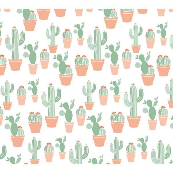 Gjafapappír, 10m, kaktus
