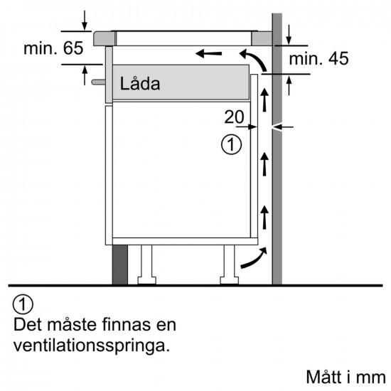 Siemens spanhelluborð