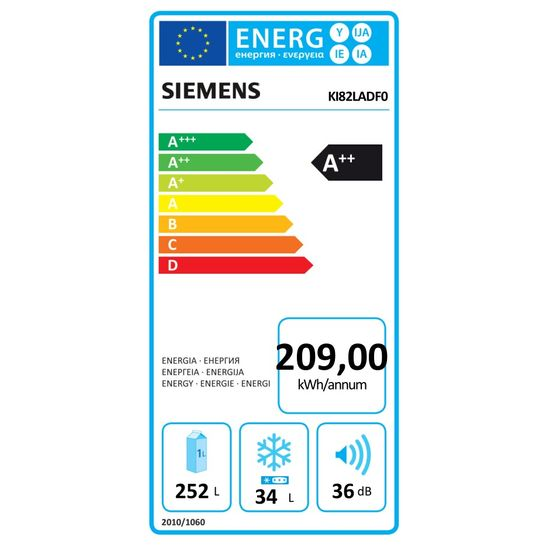 Siemens iQ500 kæliskápur
