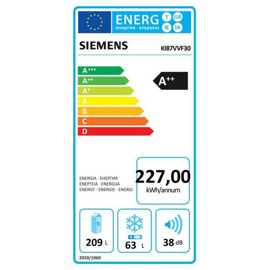 Siemens iQ300 kæliskápur