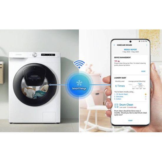 Samsung Q-Bubble þvottavél með þurrkara