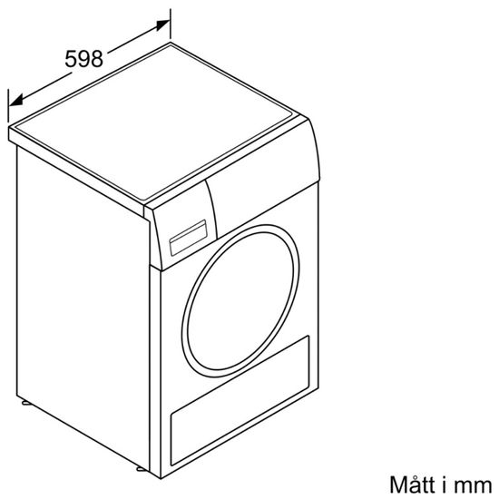 Bosch Seria 4 þurrari