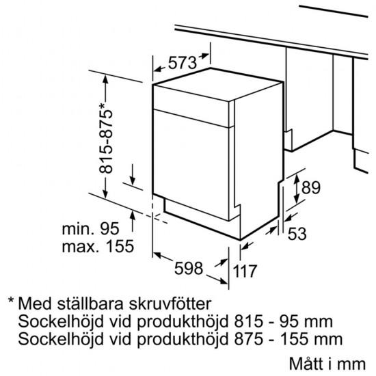 Bosch Series 6 uppþvottavél