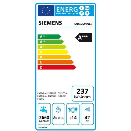 Siemens iQ500 uppþvottavél