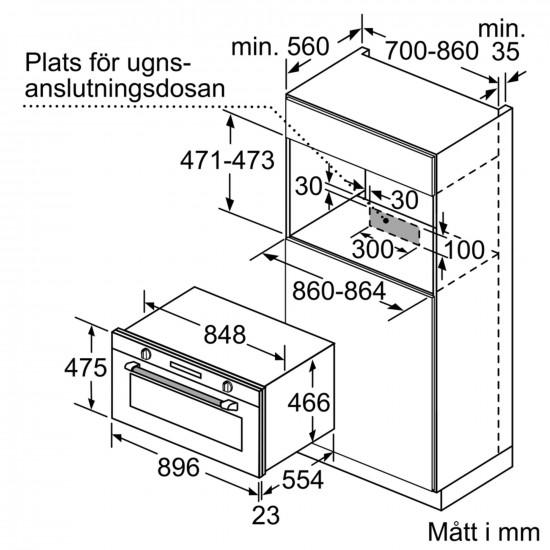Siemens ofn 90 cm