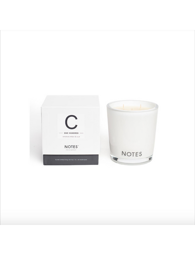 Notes Candle C - One Hundred Image