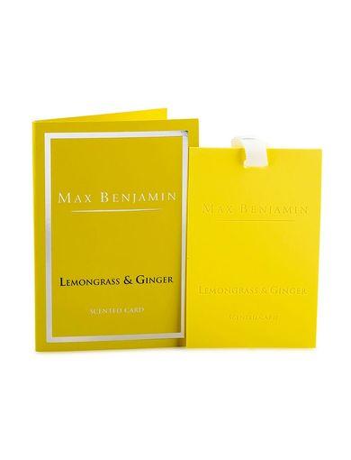 Max Benjamin Ilmspjald Lemongrass & Ginger Image