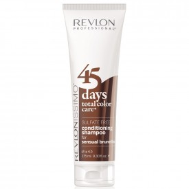 Revlon 45 days color care shampoo 275 ml sensual brunettes