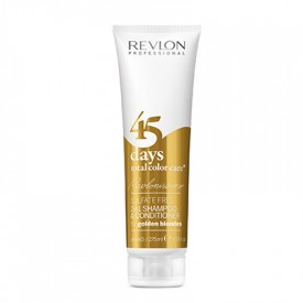 Revlon 45 days color care shampoo 275 ml golden blondes