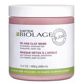 BIOLAGE RAW RE-HAB CLAY MASK 400 ml
