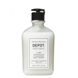 DEPOT NO. 501 MOISTURIZING & CLATIFYING BEARD SHAMPOO 250 ML