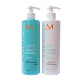 MOROCCANOIL MOISTURE REPAIR SHAMPOO/CONDITIONER 2x500 ML