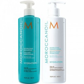 MOROCCANOIL HYDRATING SHAMPOO/CONDITIONER 2x 500 ML